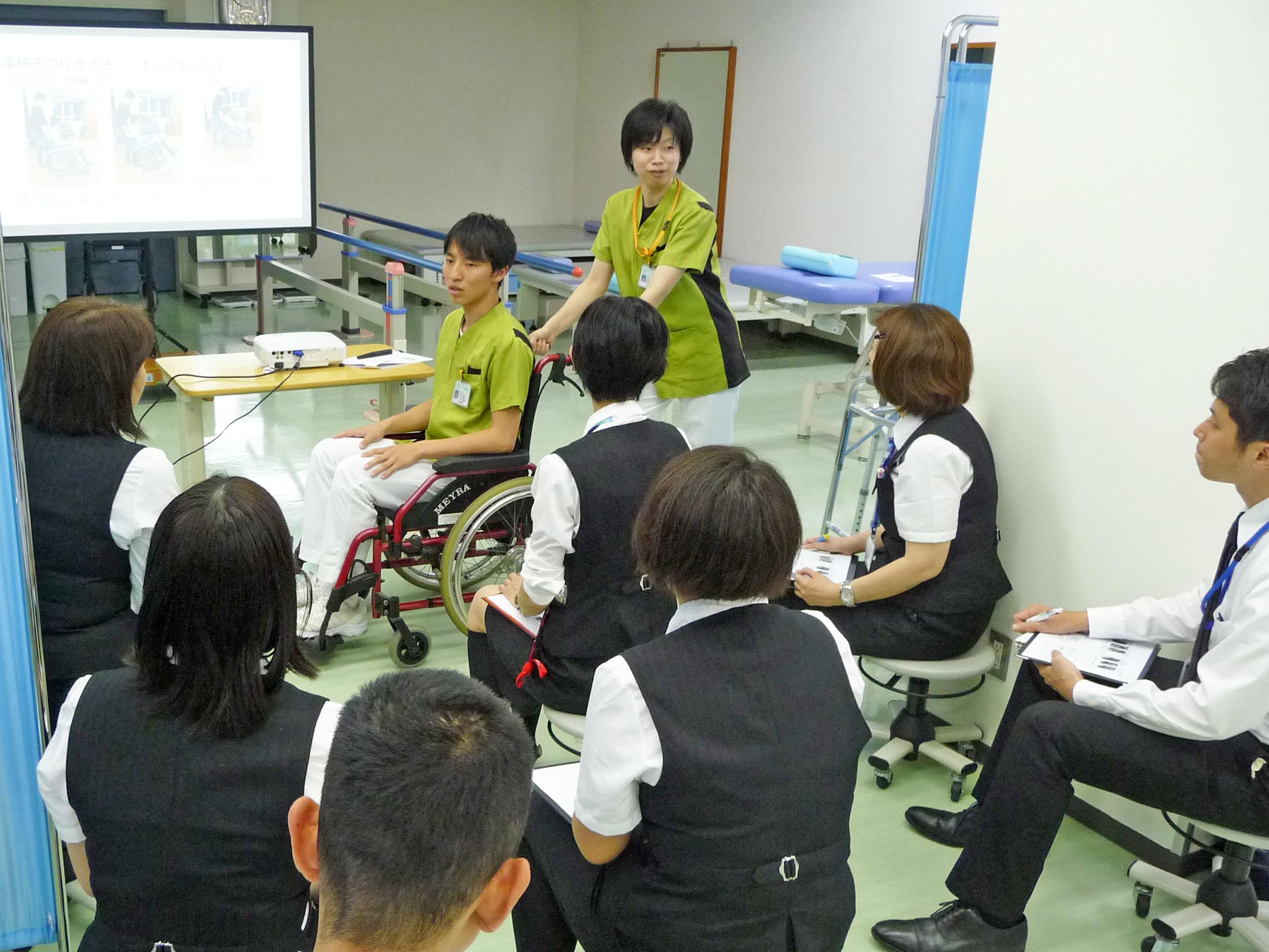 関連職種との勉強会