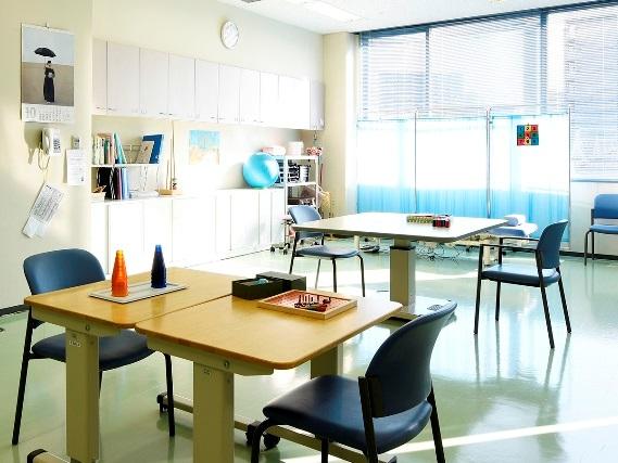 作業療法室(写真は2Fリハビリテーション室の1室)
