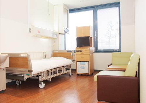 女性専用病棟個室