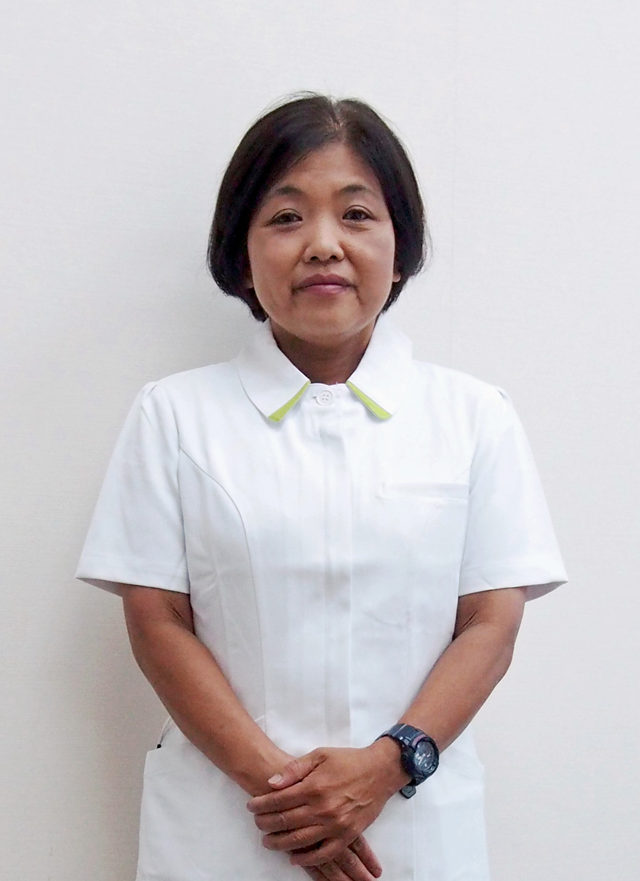 清恵会三宝病院 看護部長 山田 美穂子