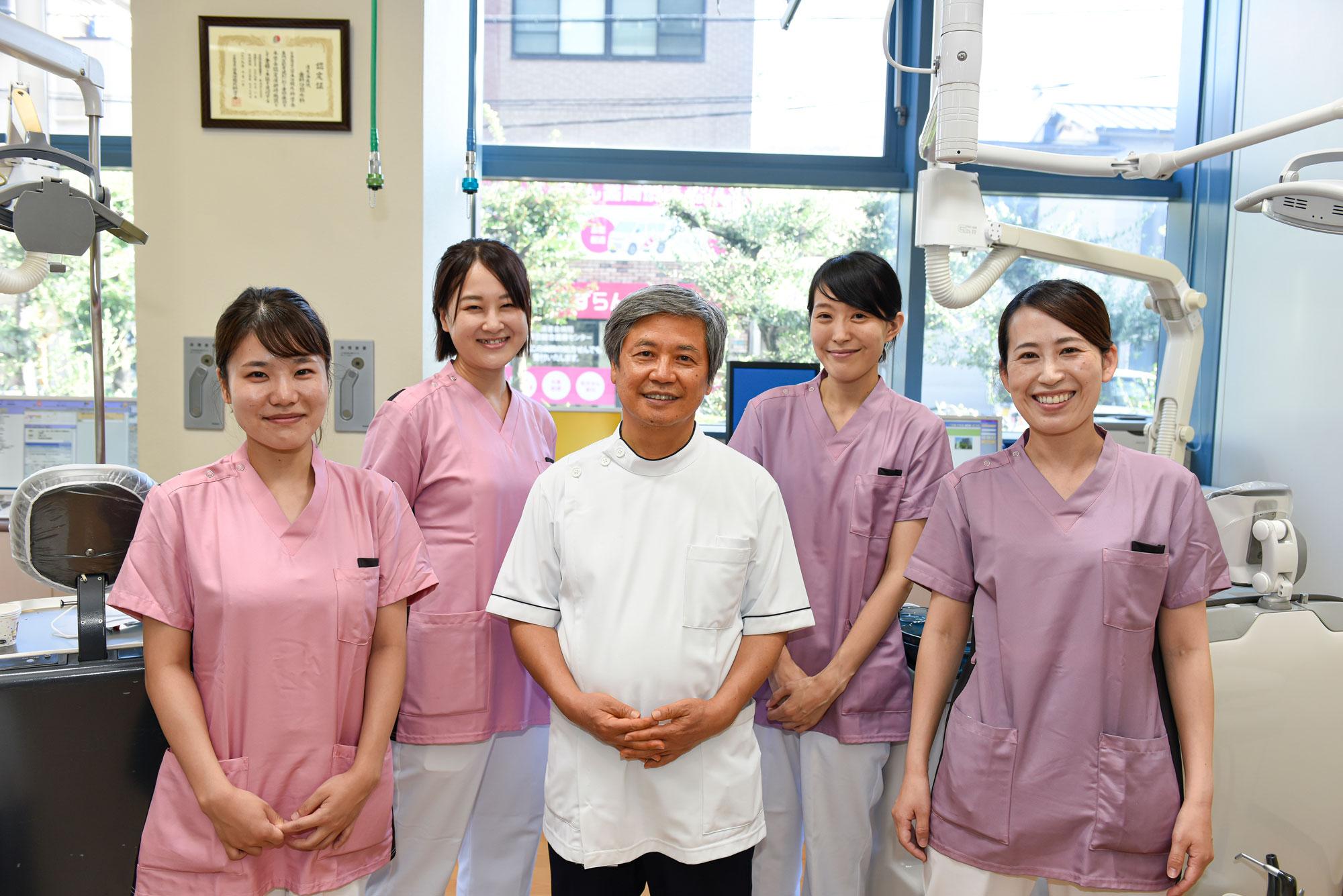 清恵会病院 歯科口腔外科 濱田傑先生 歯科衛生士